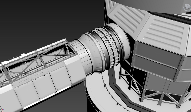 Polaris Station - Concept Model