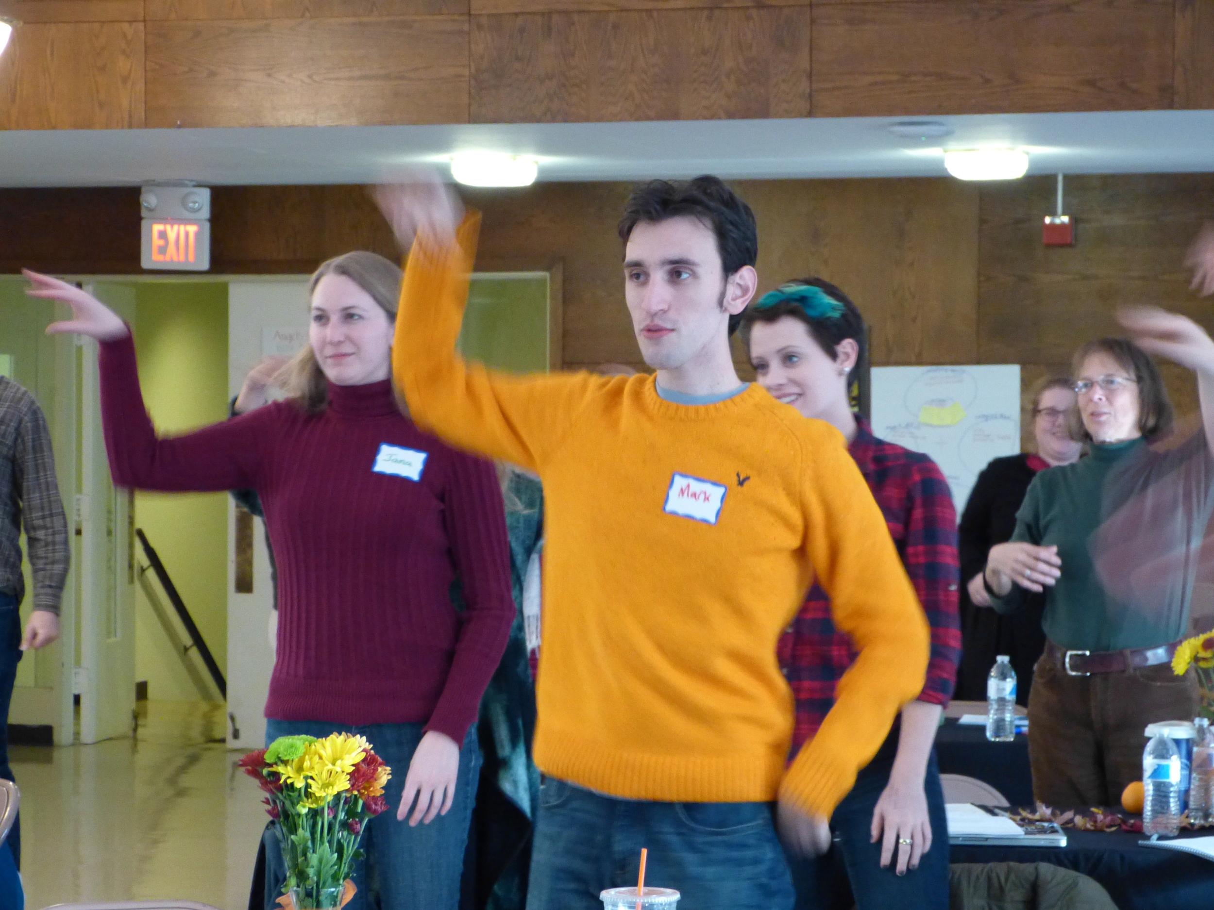 Jana and Mark get energized!