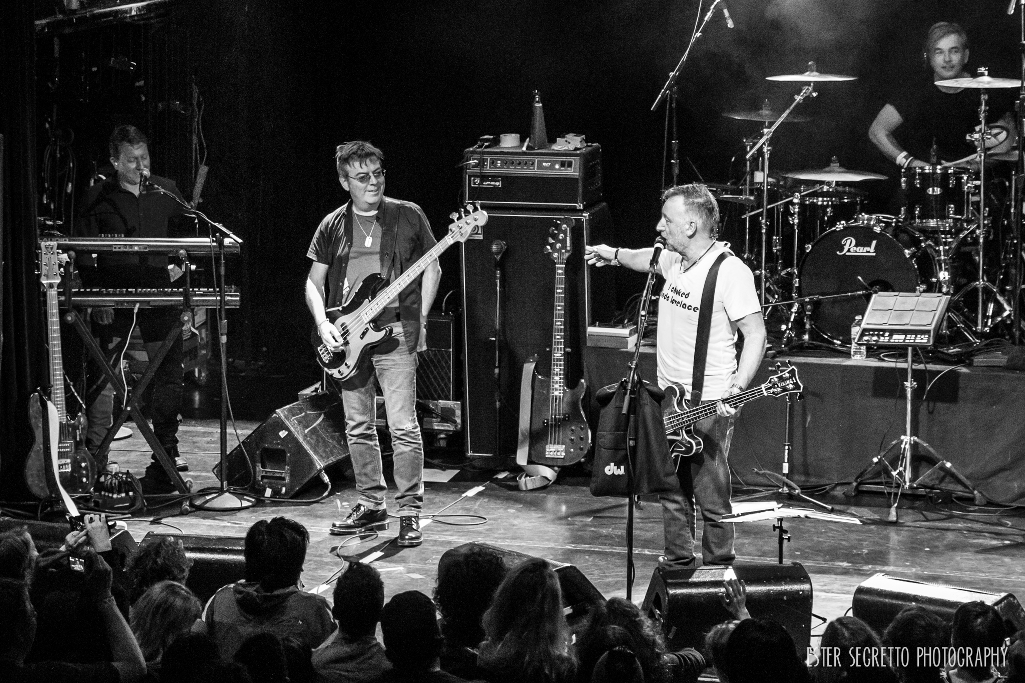 Peter Hook & Andy Rourke, Ester Segretto Photography 2014