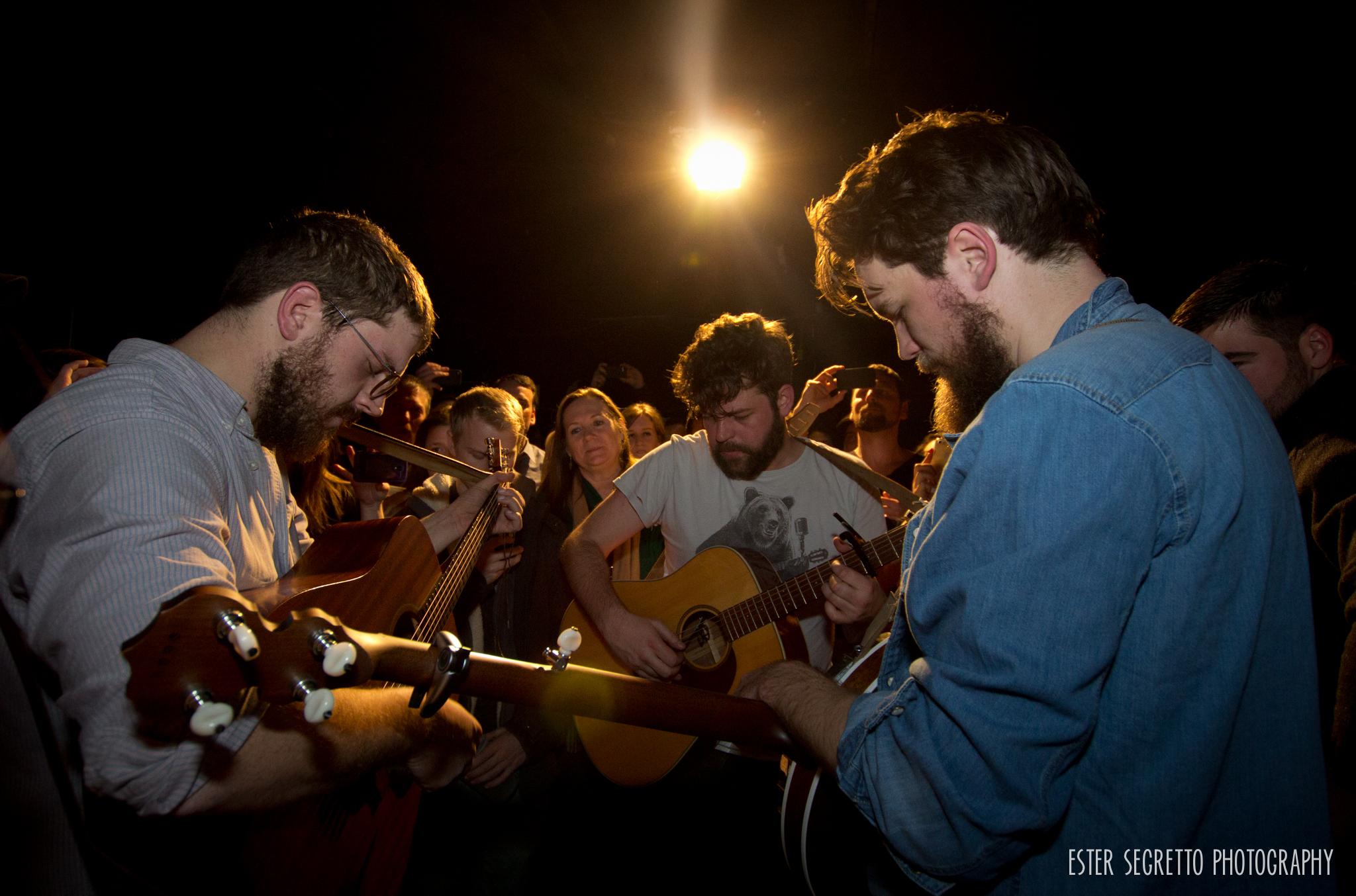 Bear's Den, Mercury Lounge- March 01, 2014