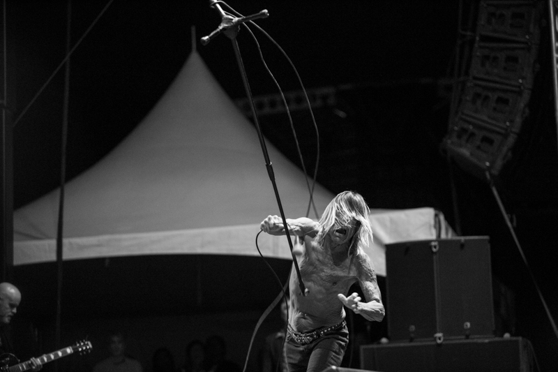IGGY POP, Riot Fest Chicago 12 Sept 2015