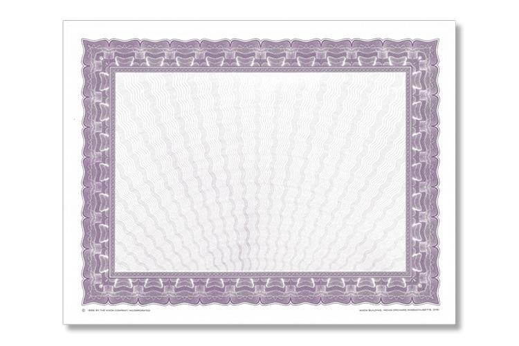 Purple, blank option