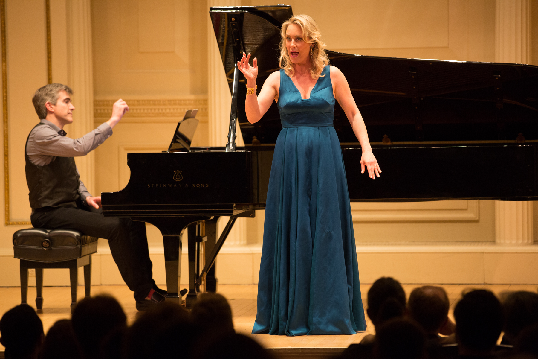 AME 2018 Carnegie Hall: Vocal Music of Robert Paterson, Marnie Breckenridge and Blair McMillen - 1. Photo Credit: Daniel D'Ottavio.
