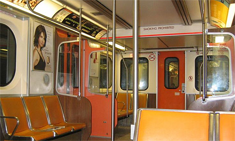 """Note the door on the end doesn't have a big """"DON'T OPEN THIS WHEN THE TRAIN IS MOVING"""" sign on it, because  most people know not to do that shit."""
