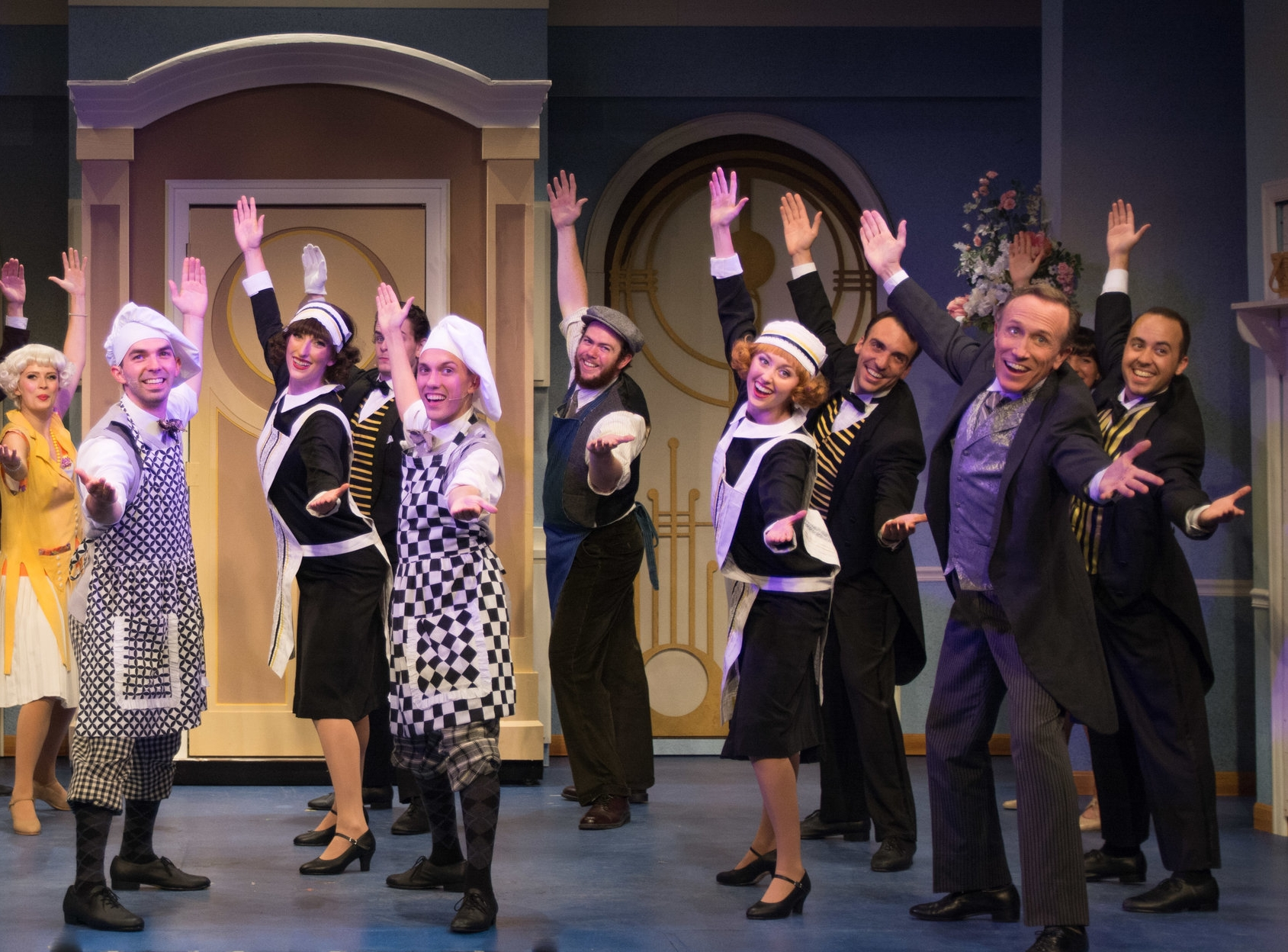 The Drowsy Chaperone - Emily is heading to New Hampshire to perform in the ensemble, u/s Janet Van DeGraph and assist choreographer Kirby Ward at the Peterborough Players.