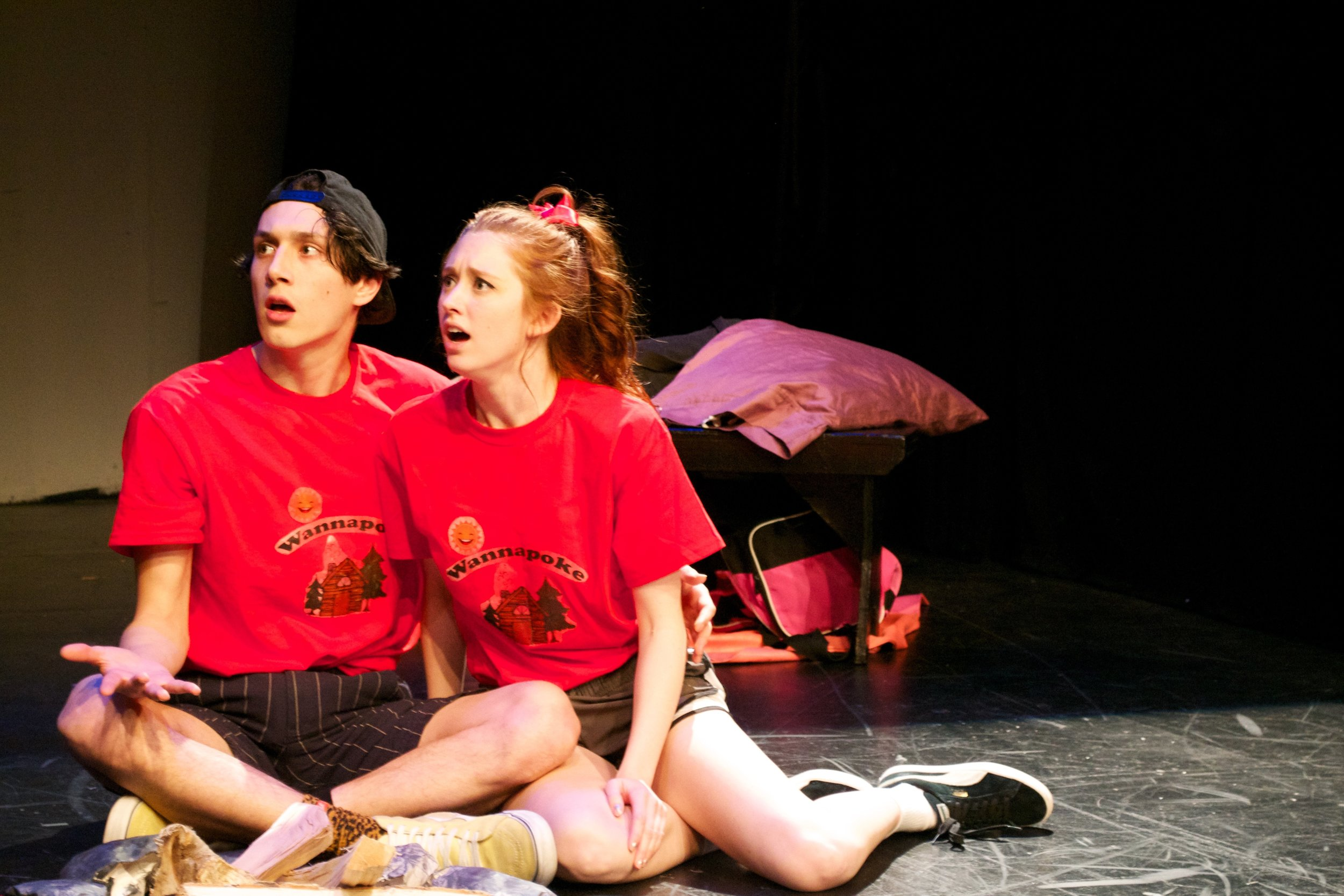 """Adult Stuff - CLICK HERE to see photos of Emily as """"Destiny"""" in Edward Bean, and Ellen Jacobs new musical performed at the Emerging Artists Theater New Work Series."""