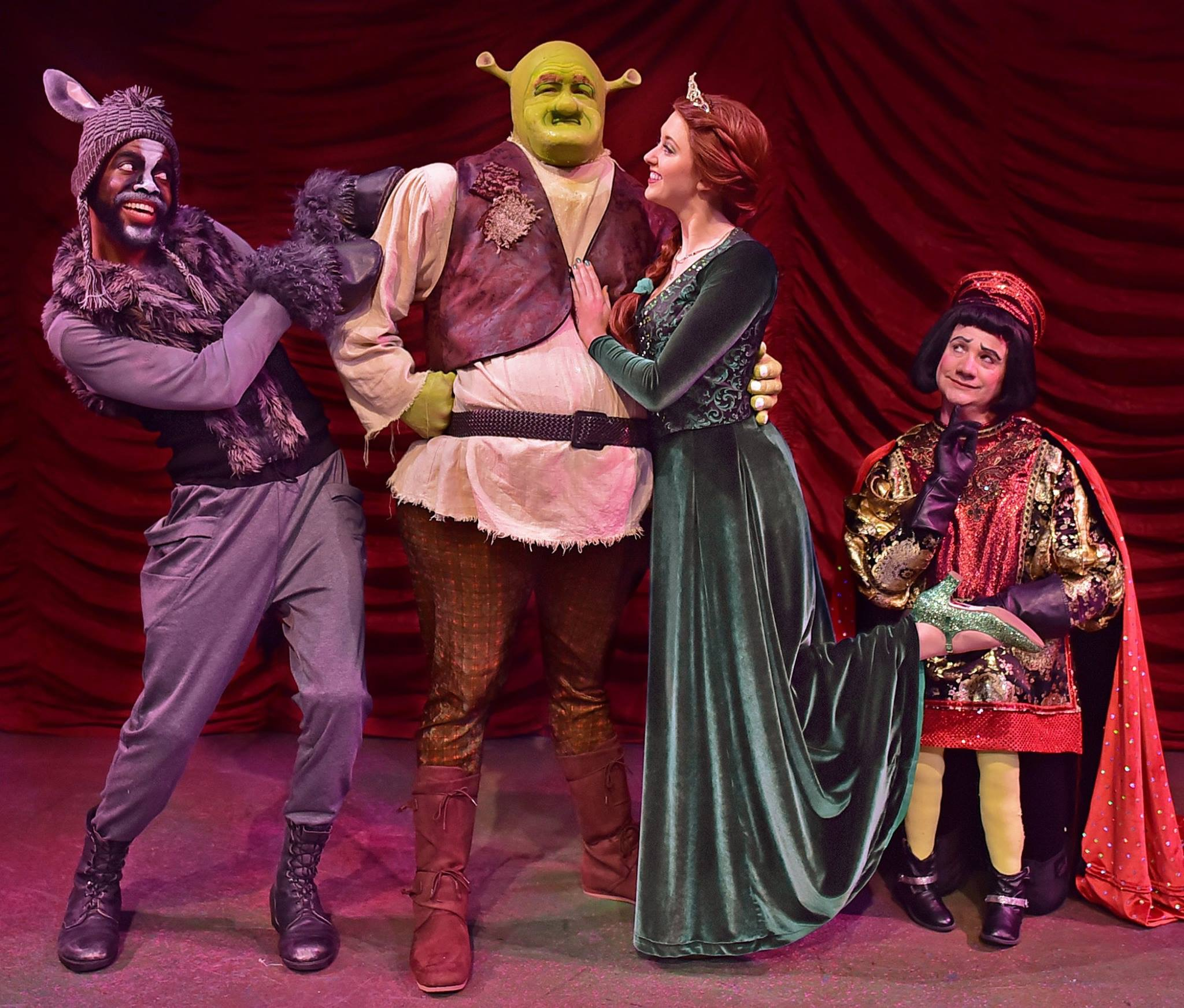 """Shrek the Musical - CLICK HERE to see photos and video of Emily as princess Fiona in """"Shrek the Musical"""" at Beef and Boards."""