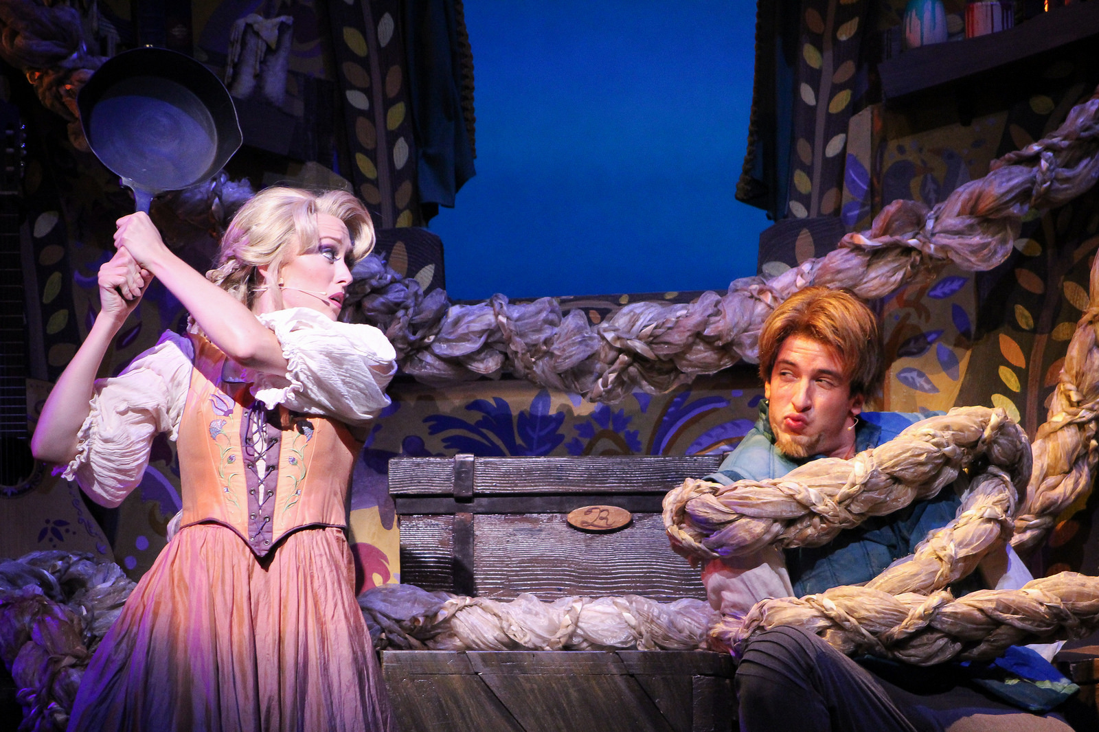 NEWS 6 - NEWS 6 reporter, Amanda Castro goes behind the scenes of Tangled the Musical.