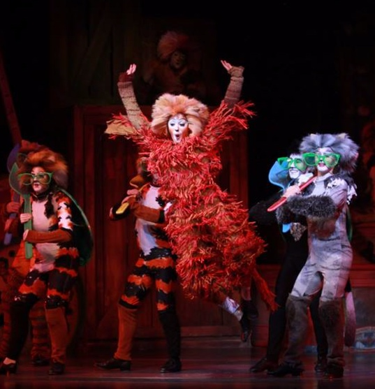 "CATS: Jennyanydots - ""…making strong impressions with singing and dancing…"" The old Gumbie Cat is pegged as ""one of the strongest musical numbers in the show"""
