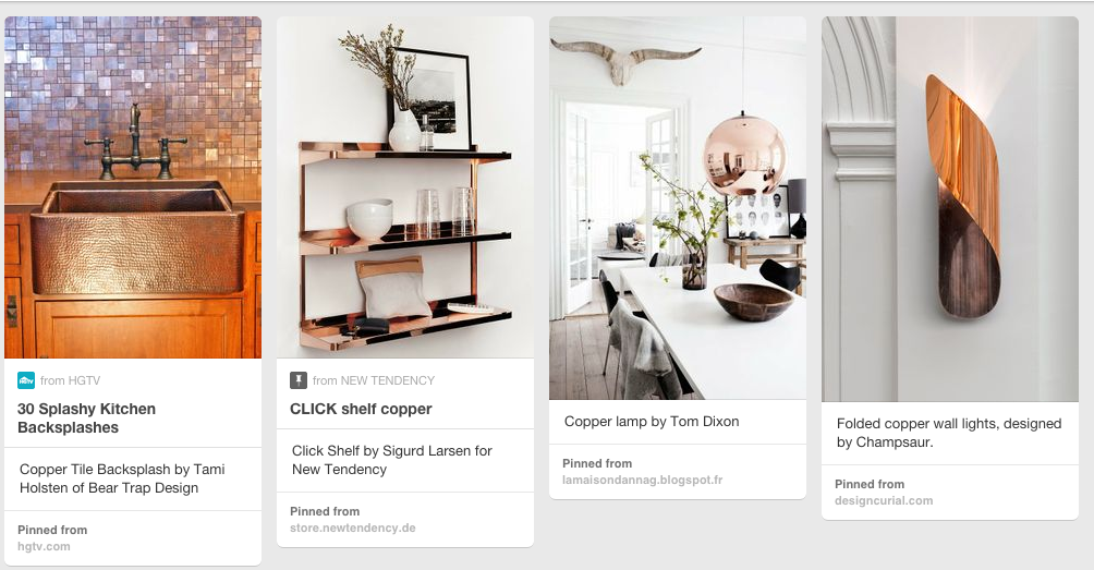 For more of my favorite copper looks check out my Coveting Copper board.