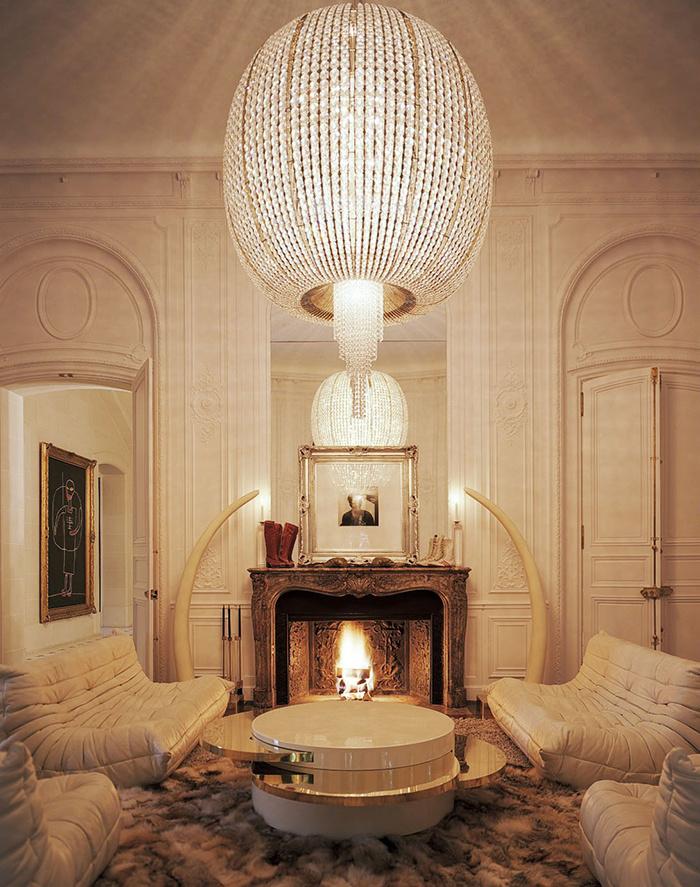 Lenny Kravitz's home in Paris.