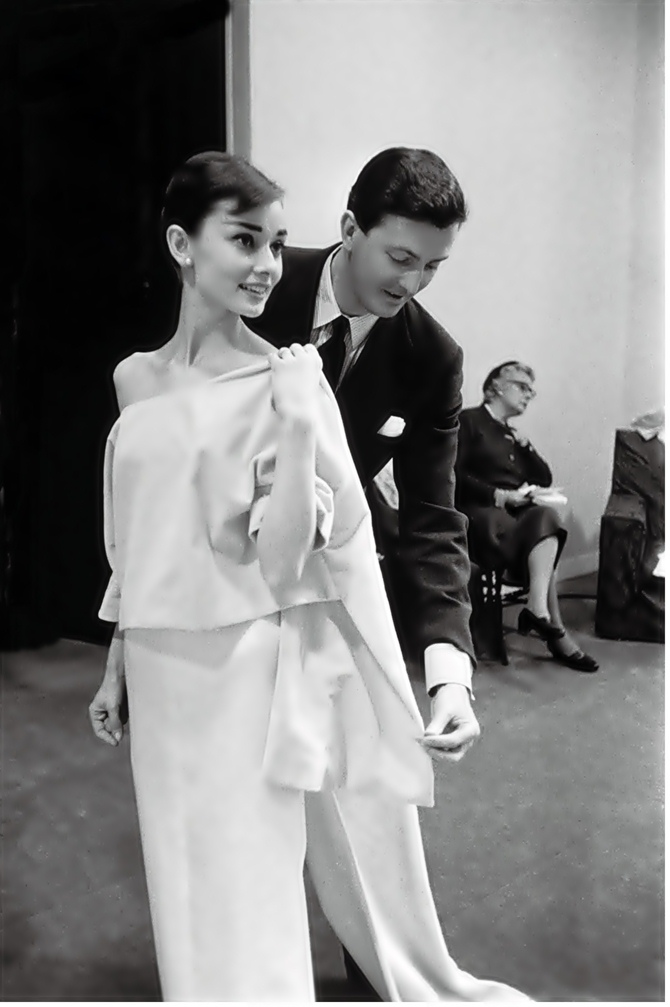 Givenchy & Hepburn, Vogue.