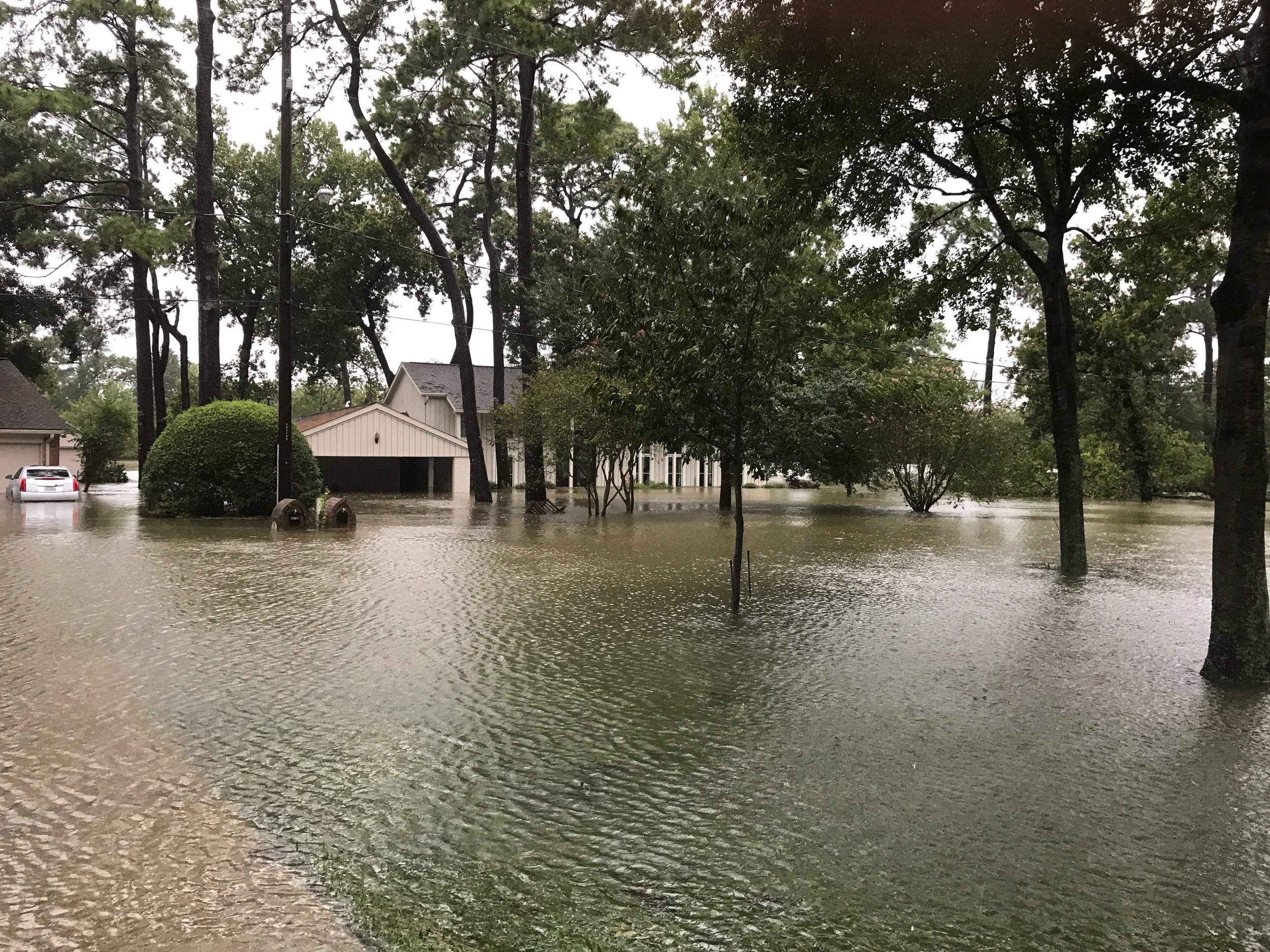 My home immediately after Harvey.