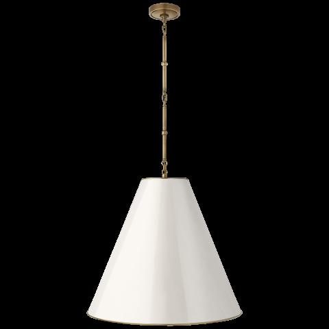Goodman Large Hanging Lamp, Thomas O'Brien for  Circa .