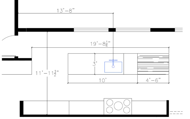 Layout of my new kitchen