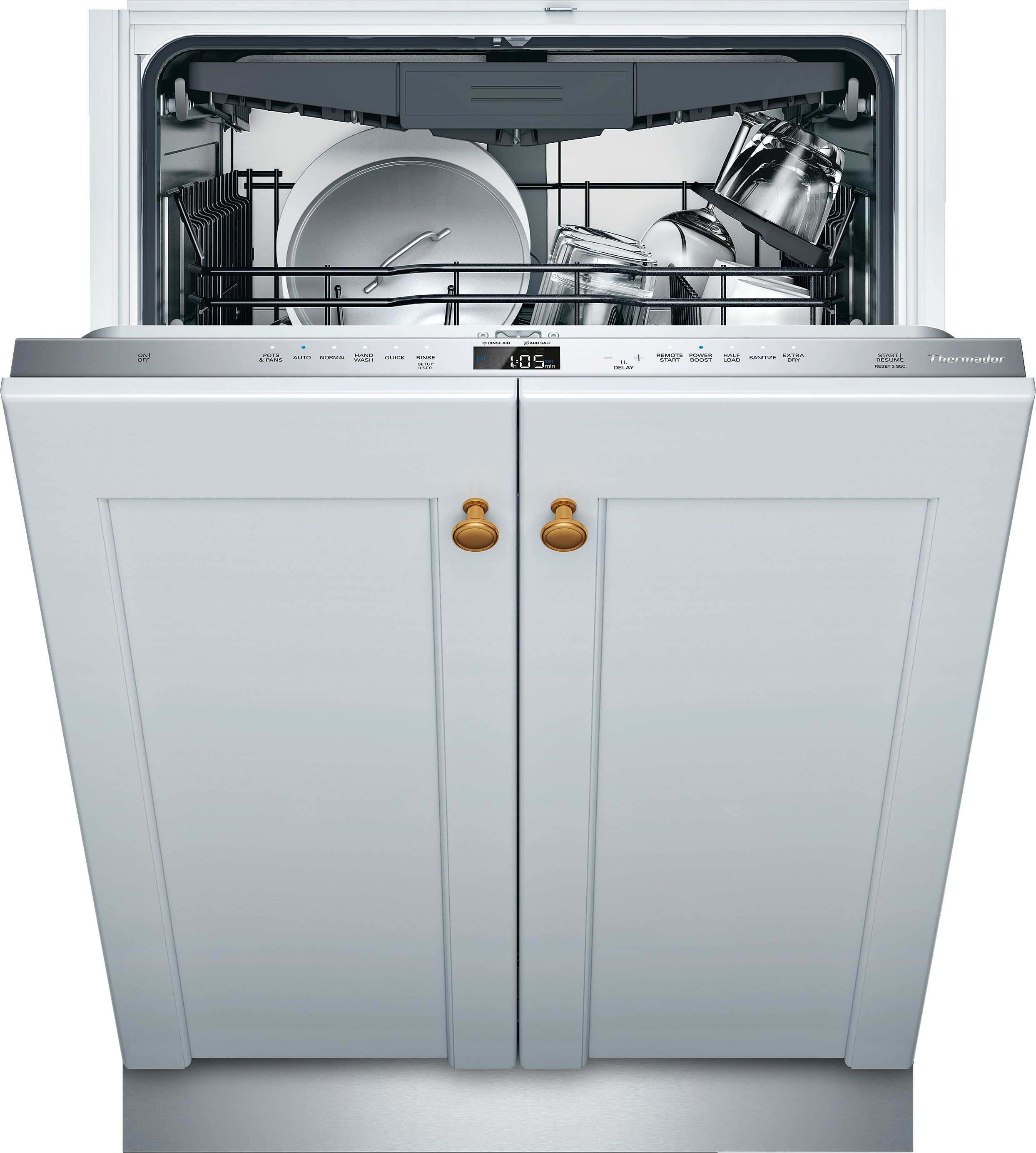 The dishwasher I selected from Thermador