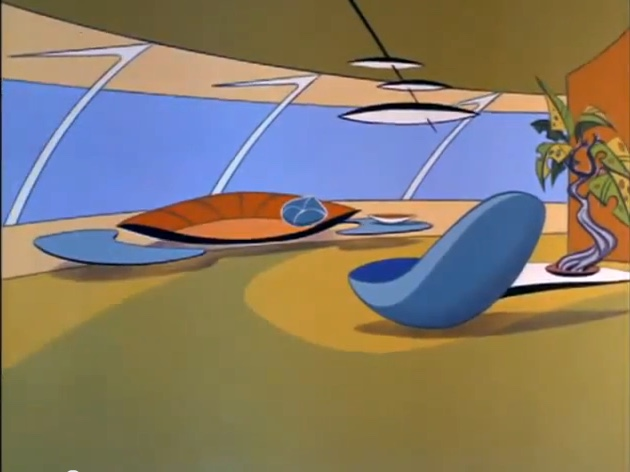 The living room of the Jetsons, circa 1963
