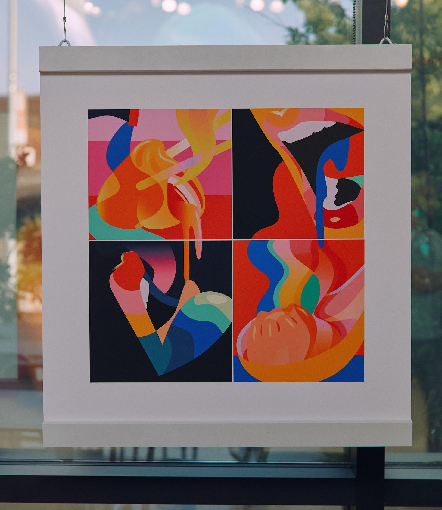 """It's Hot, 30""""x30"""", Fine Art Print"""