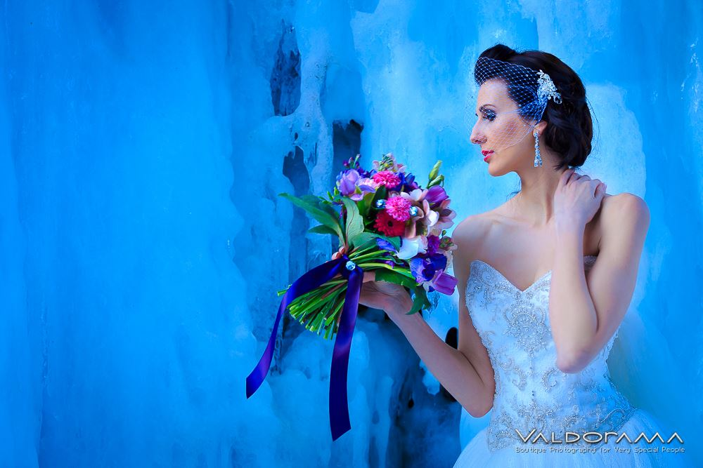 Model: Valda Ludwig  Flowers: Perfect Princess Events  Dress & Accessories: theweddingdressllc.com  Photography: Valdorama