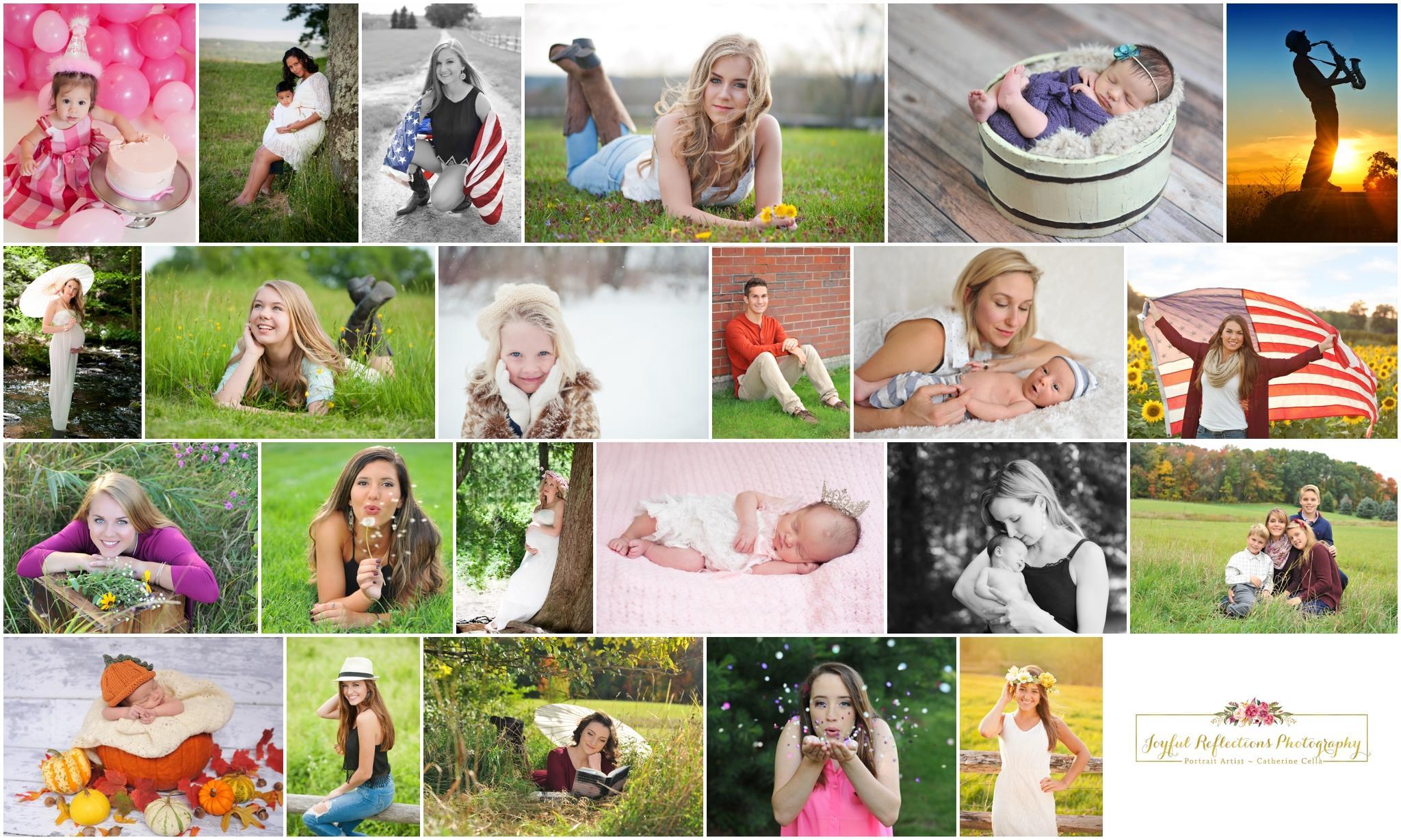 Catherine Cella of Joyful Reflections Photography. Family, Seniors, baby's, maternity, and newborns   http://joyfulreflectionsphotography.com/