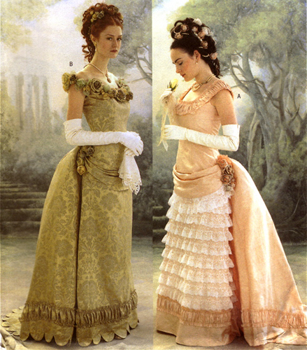 Examples of Victorian dresses