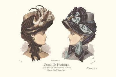 Victorian hat references