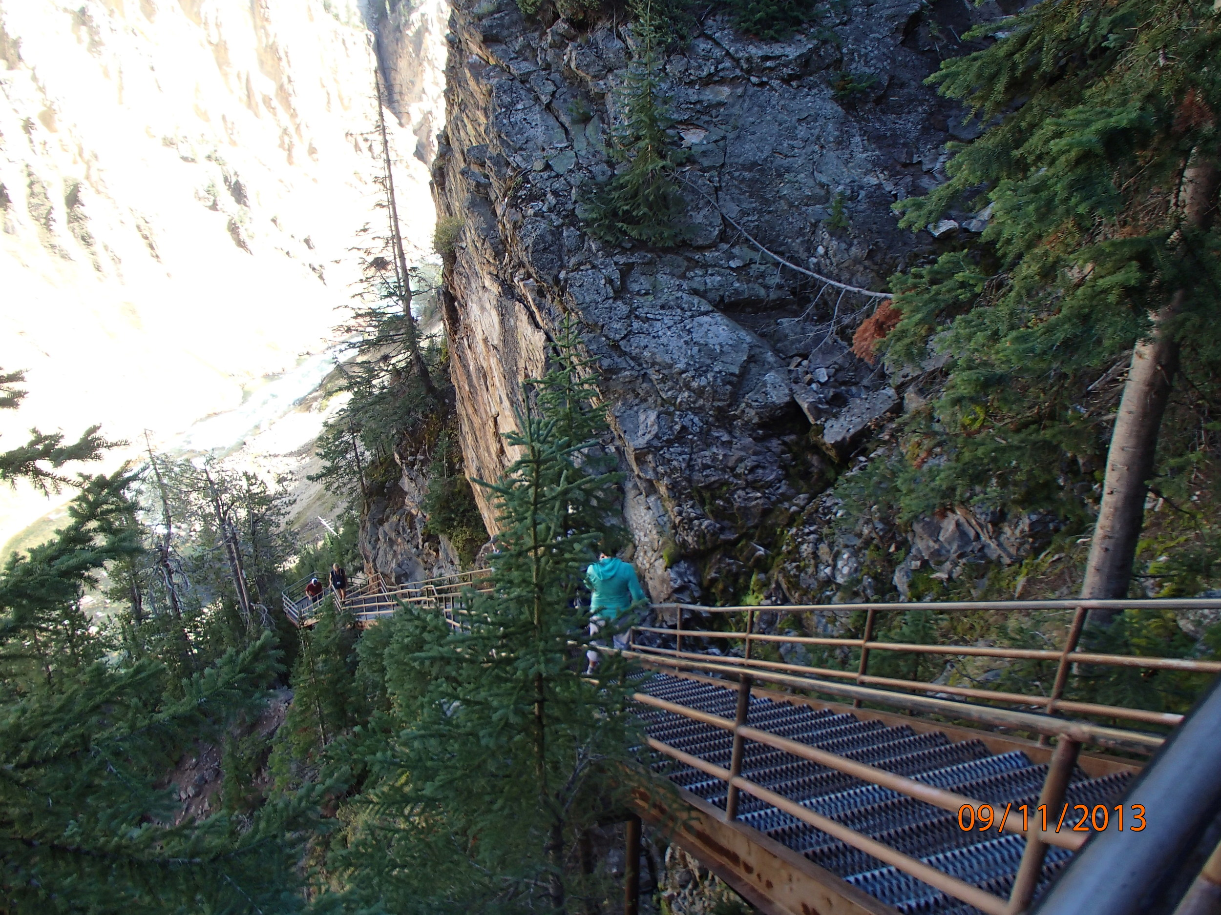 328 stairs to a viewpoint: another way to escape the Waddle Zone
