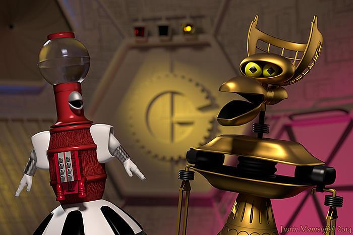 Tom Servo and Crooooow!