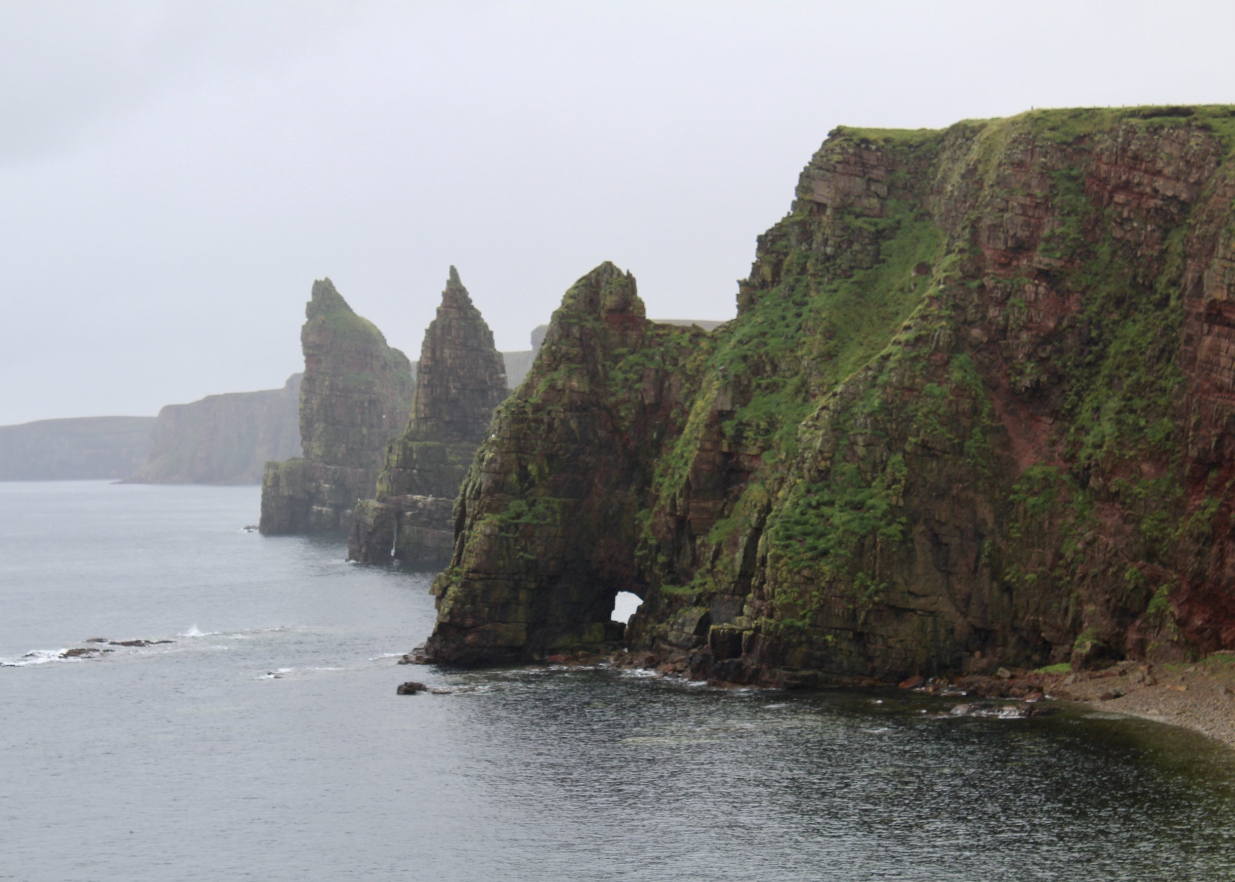 Stacks of Duncansby off of Noss Head at the far northeast corner of Scotland