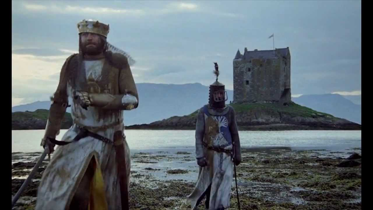 Castle Stalker as seen in Monty Python and the Holy Grail