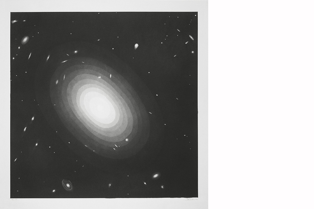 NGC 1132   90 x 90cm
