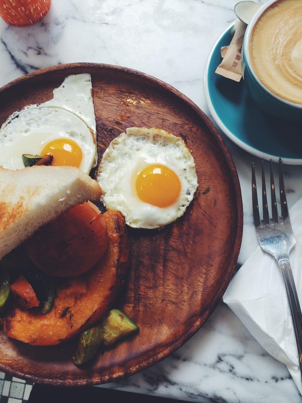 Western breakfast at the Corner Kitchen Cafe