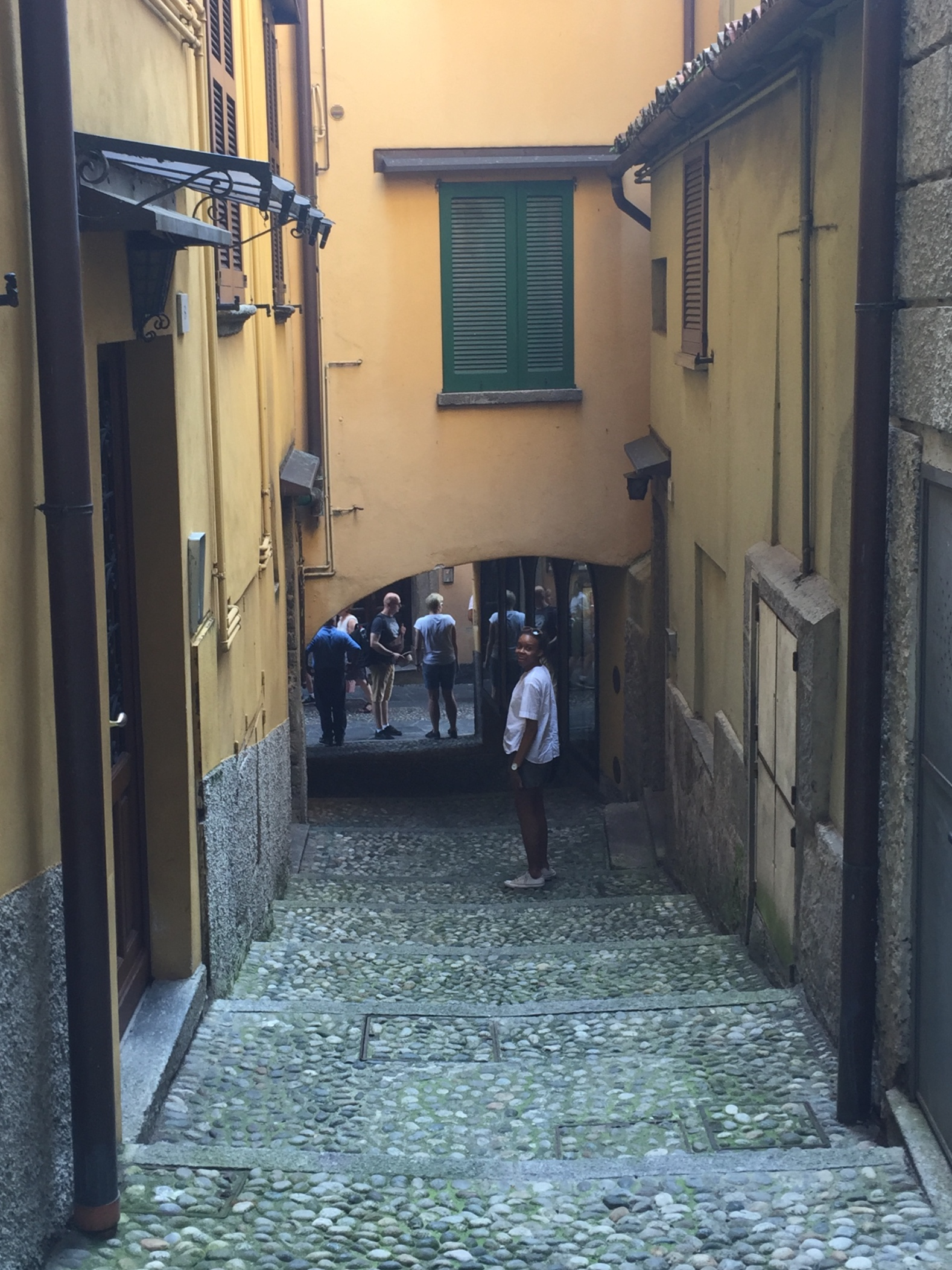 In Bellagio, Lake Como, Italy.