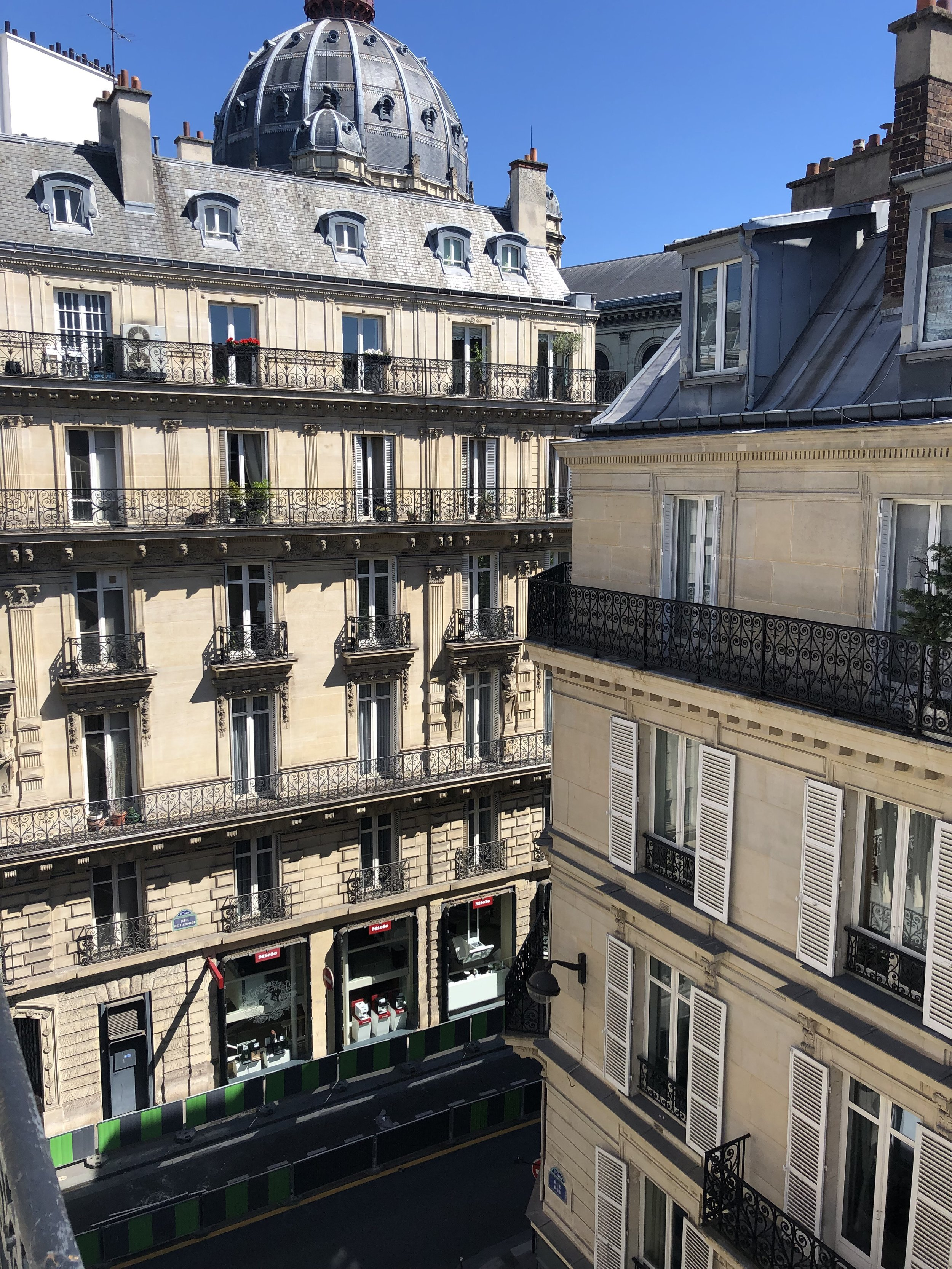 Paris, Neuilly, Giverny (briefly) -