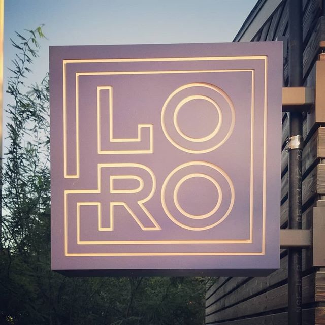 The branding, architecture, outdoor space, food and drink at Loro are dialed. Japanese style timber framing with a contemporary Southern fleir in materials and menu. 💯 ... #branding #atx #austin #food #architecture #restaurant #logo #typography #signage #tasty #drinks