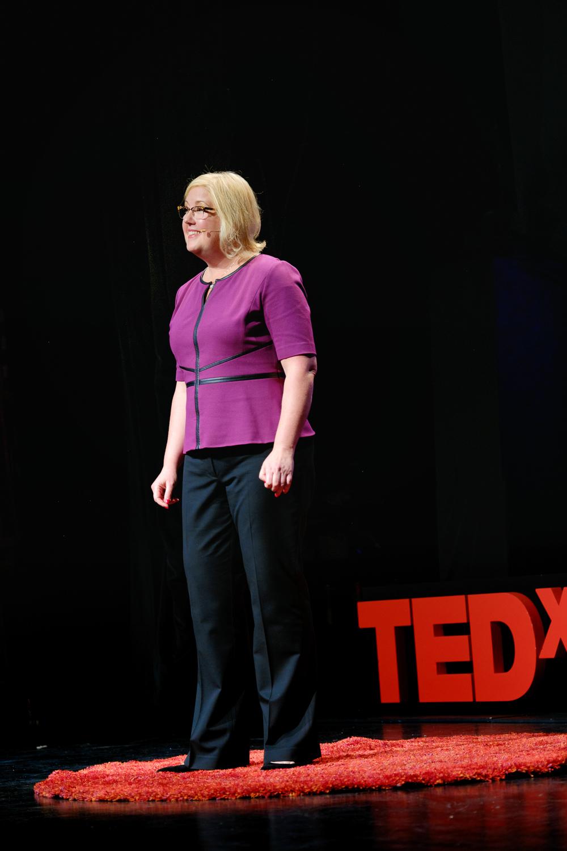 Tess Vigeland (longtime host of Marketplace on NPR)