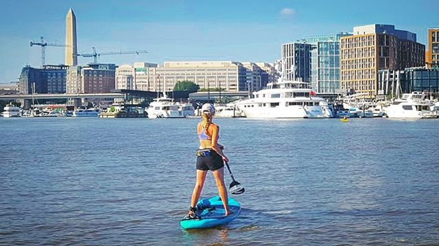 #tbt to sunny #sup days. #ihatewinter ☀️ 🌊