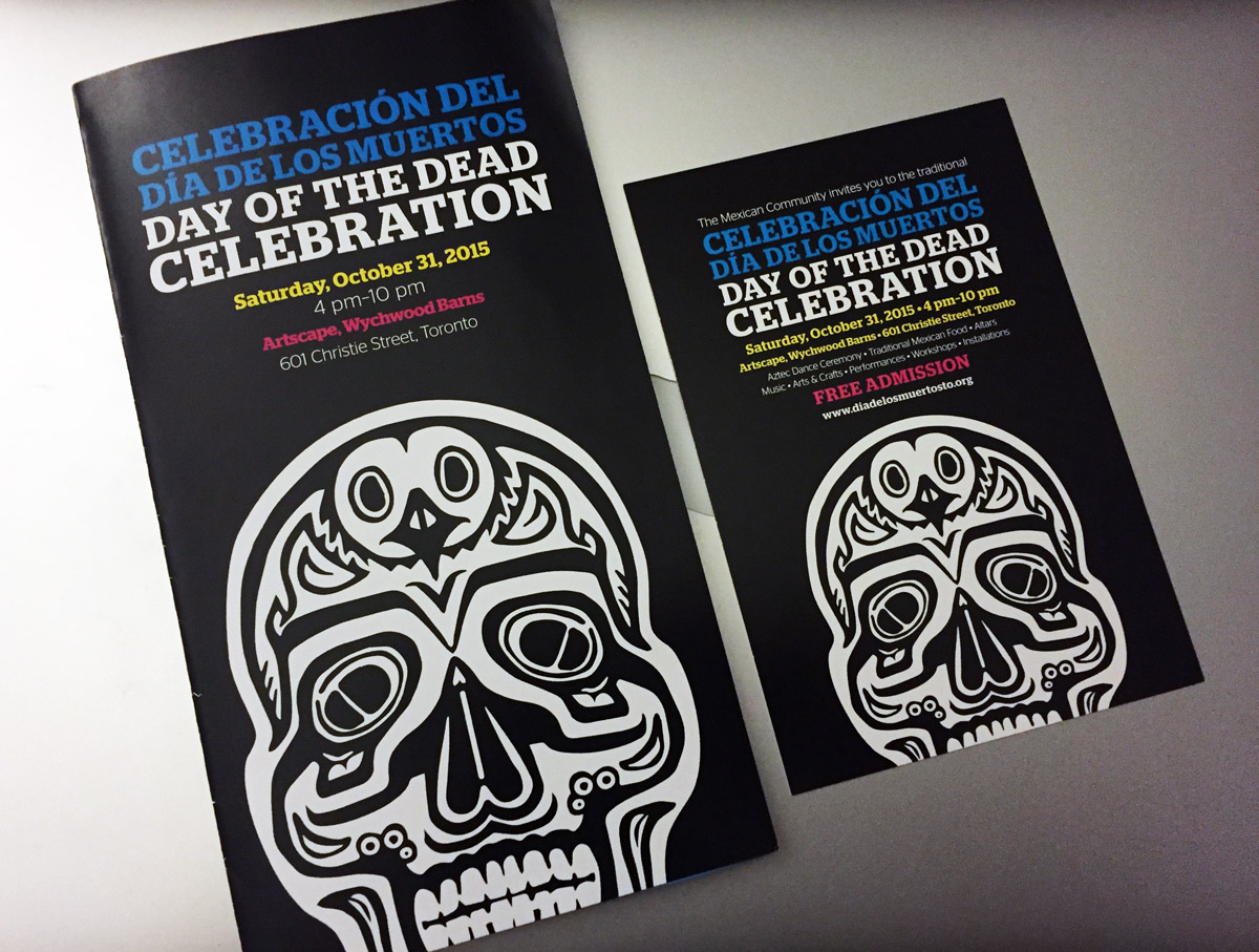 Day of the Dead Celebration: Program & Flyer