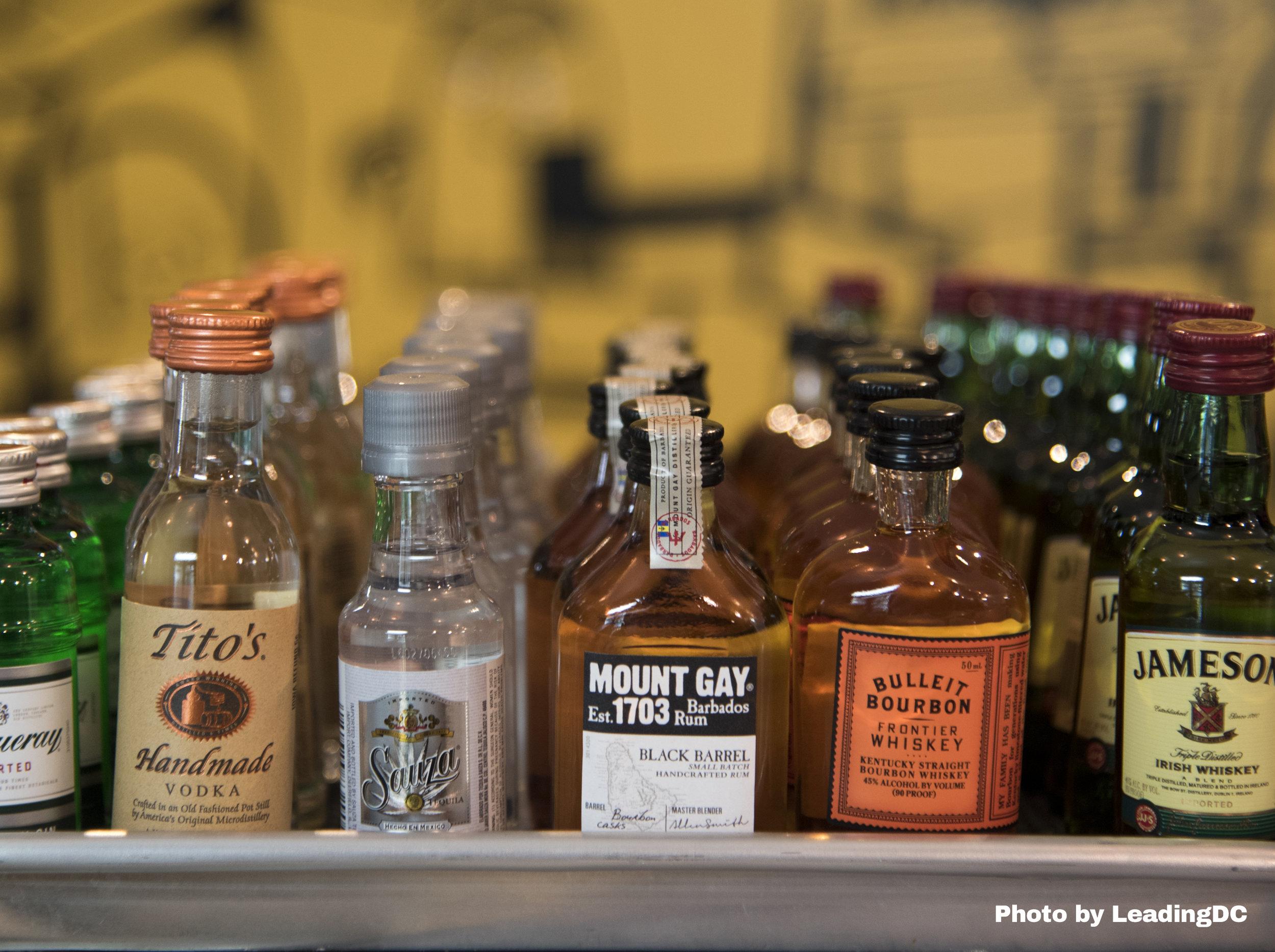Mini cocktail bottles