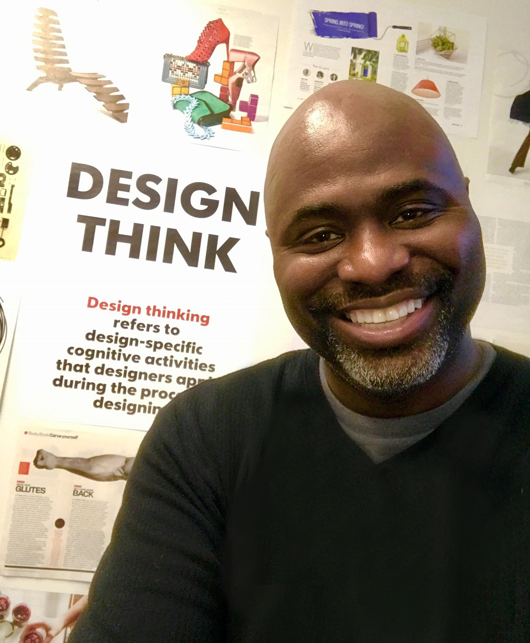 The power to solve problems by using design principles extends beyond a traditional use of design. - Jerald Council, creative director