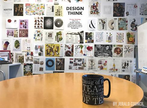 The inspiration room at Studio Gannett. - USA Today's Studio Gannett