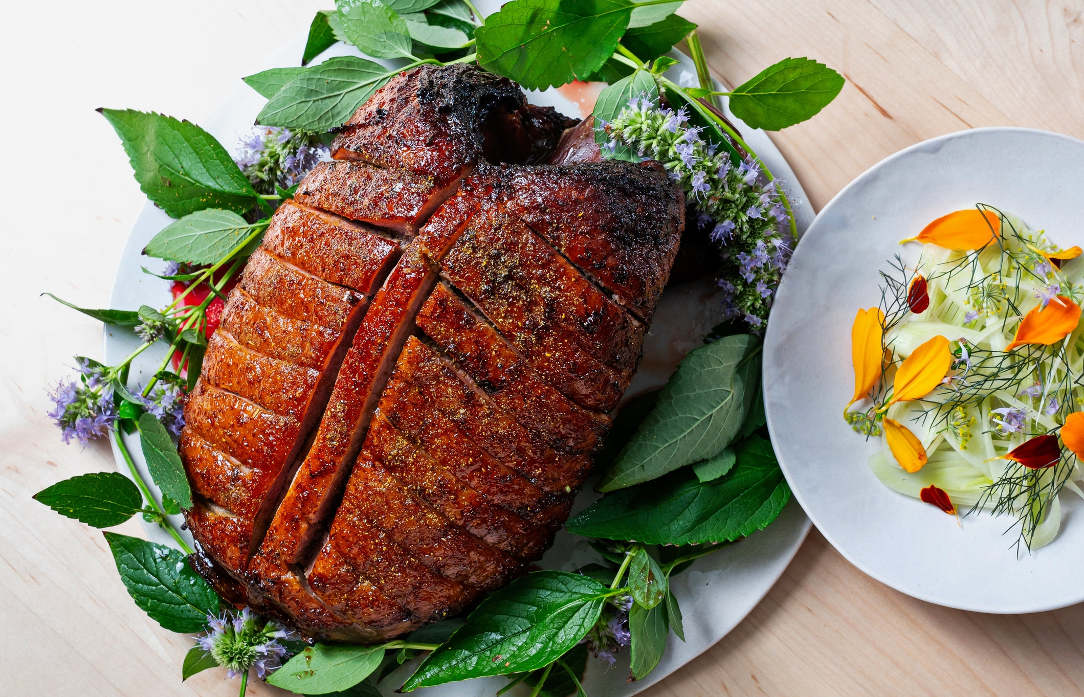Roast duck for two