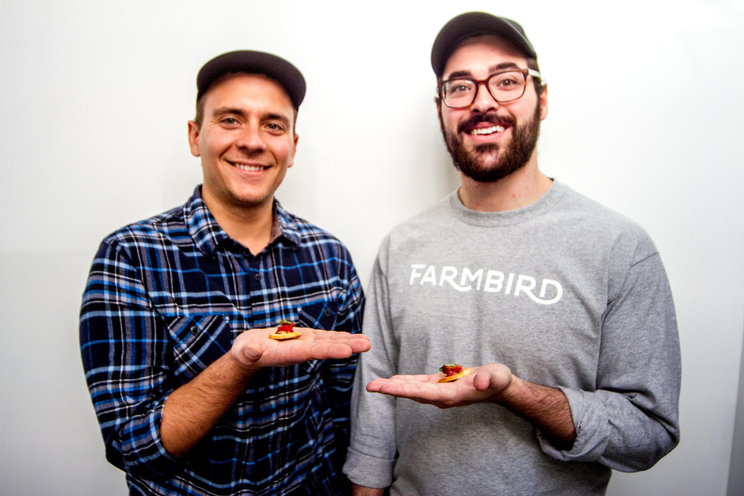 Andrew Harris, left, and Dan Koslow opened Farmbird in 2017. - Photos courtesy of Farmbird