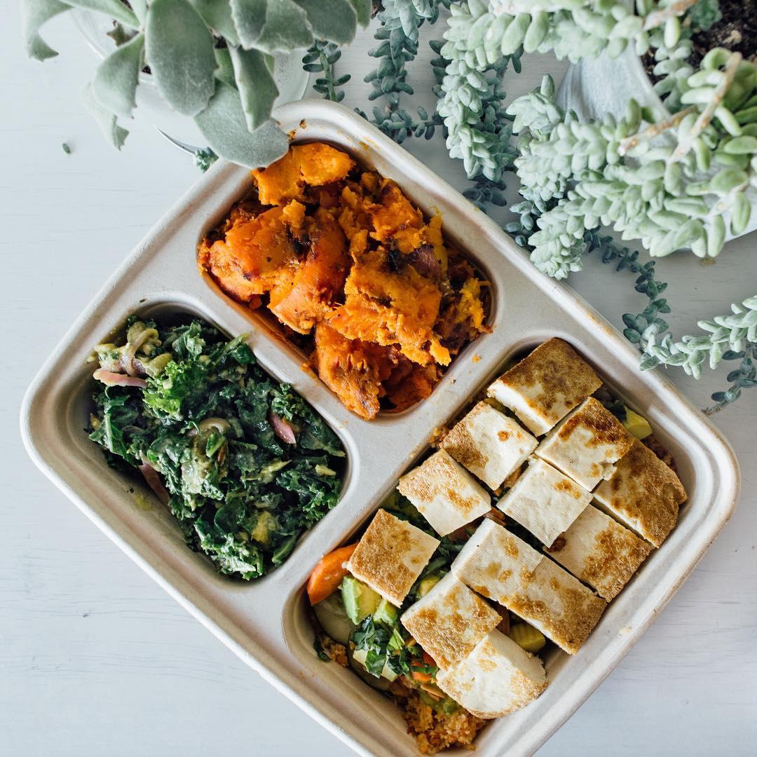 Tofu plate