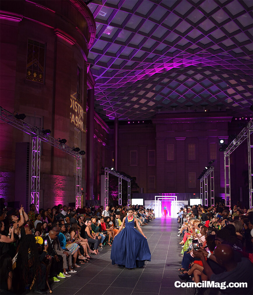 District of Fashion Runway Show -
