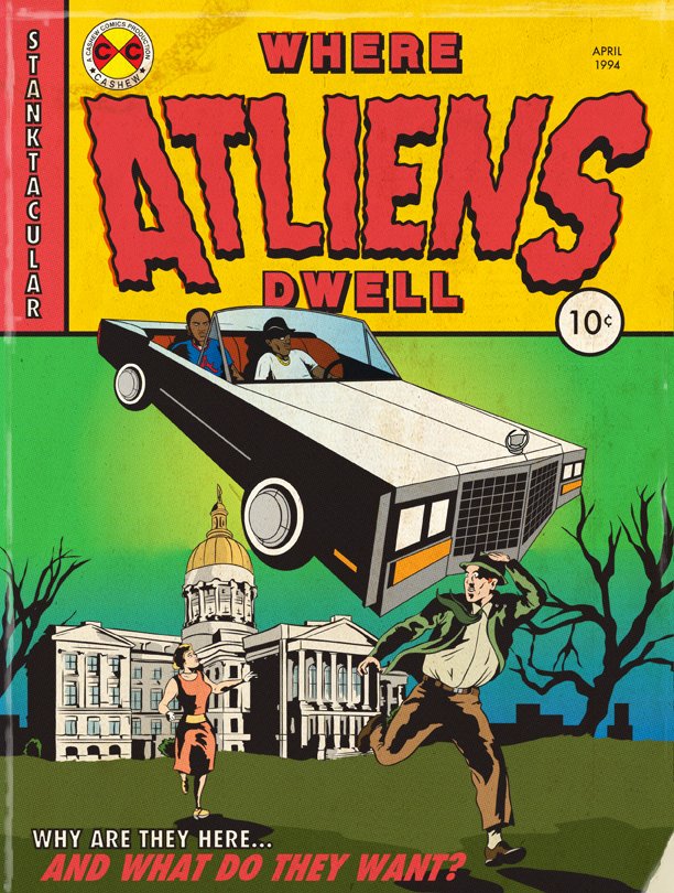 WHERE ATLIENS DWELL   by Kenny Keil