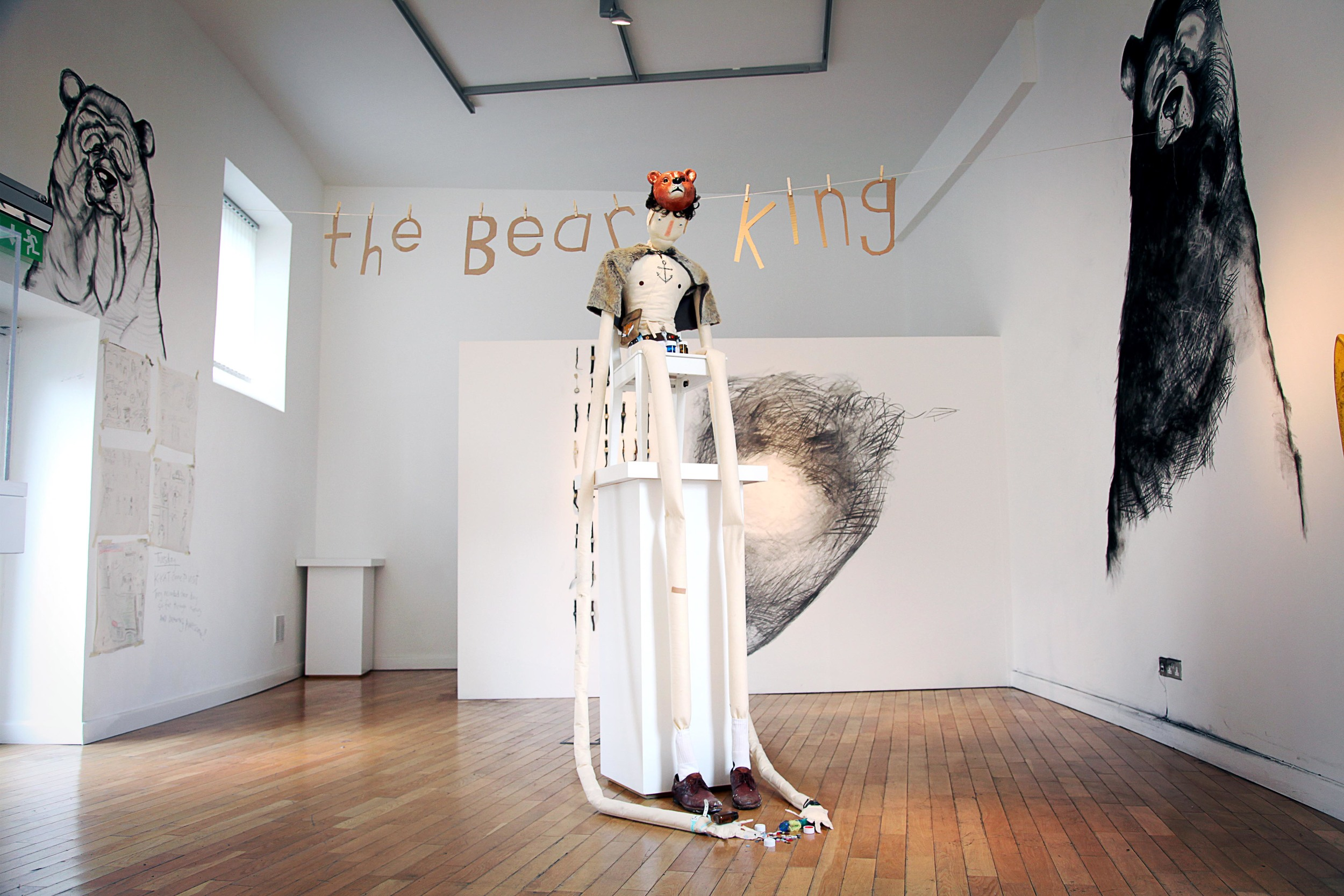 The Bear King by Mick Minogue
