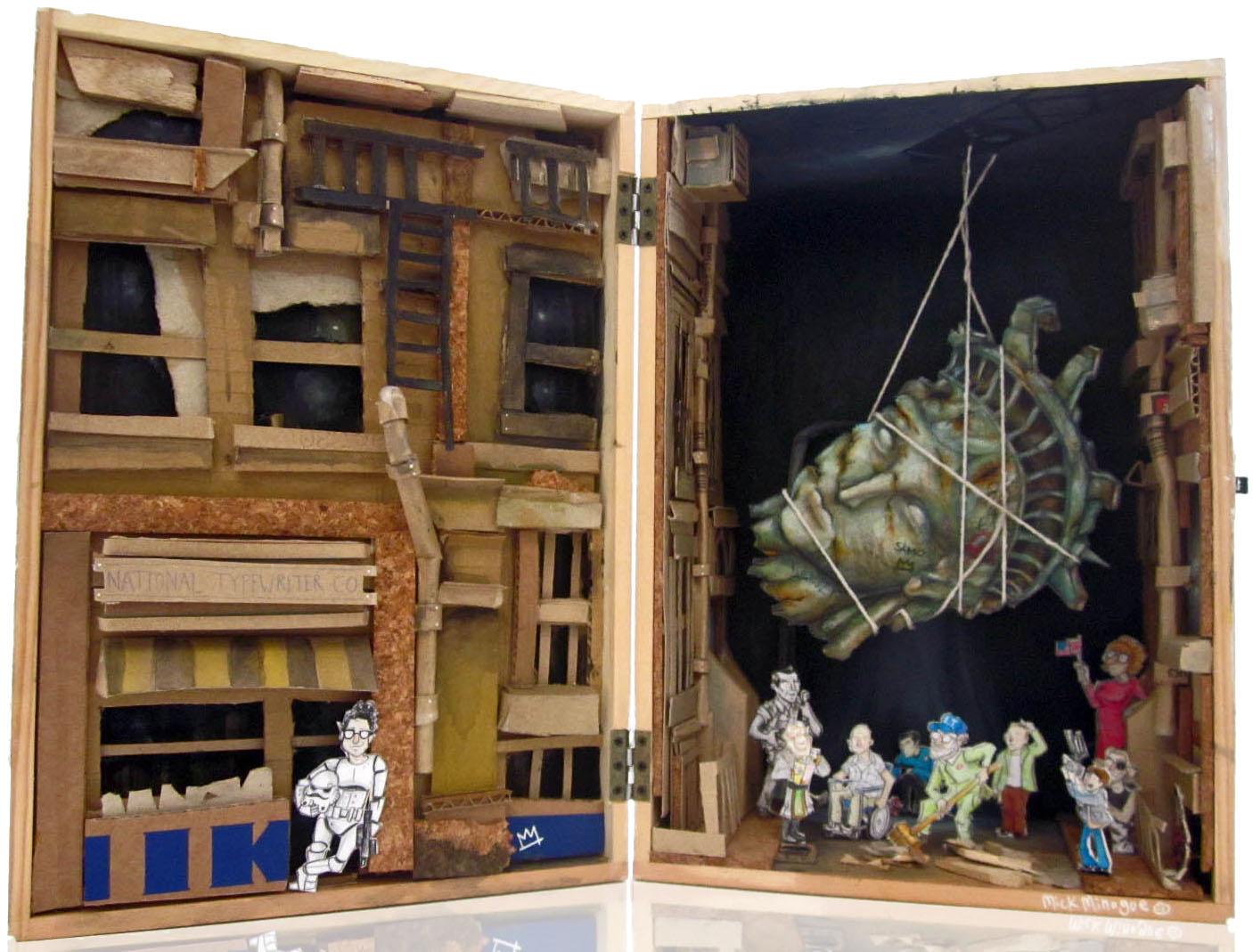 JJ Abrams Mystery Box by Mick Minogue
