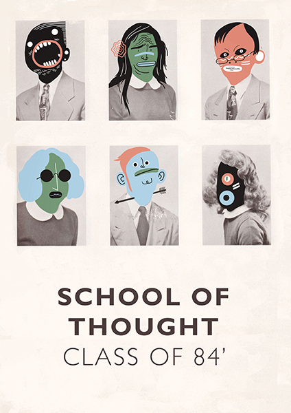 School of Thought poster by Steve McCarthy