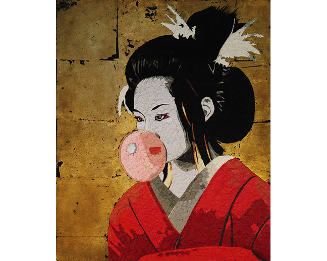 Bubblegum Geisha by Stephen Murphy